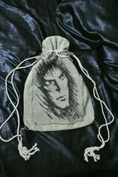 Женская торба-рюкзачок ручной работы