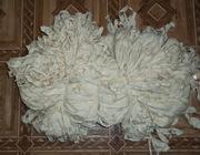 Лента хлопчатобумажная белая шириной 15 мм