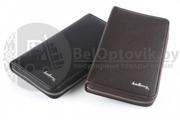 Мужское портмоне Baellerry на молнии с ручкой (коричневое) Мужское портмоне Baellerry черное на молнии